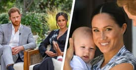 Harry And Meghan Oprah Interview: Duchess Claims Royals Had Concern Over Archie's Skin Colour