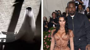 Kanye Fans Confused As Kim Kardashian Appears On Stage In Wedding Dress