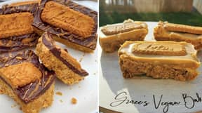 Everyone Is Making Biscoff Bars - And They Look Delicious