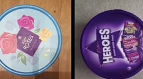Woman Shows How To Get Favourite Chocs Out Of Tub Without Breaking Seal