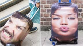 You Can Now Buy A Suitcase With Your Best Mate's Face On