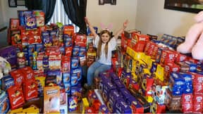 Schoolgirl Collects 1,100 Easter Eggs To Donate To Sick Children
