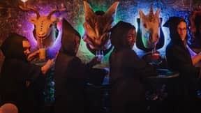 Cocktail Bar 'The Cauldron' Dispenses Bottomless Gin Cocktails From A Unicorn's Head