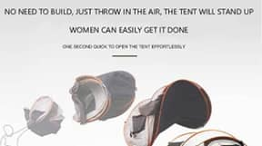 Shopper Blasts 'Blatantly Sexist' Advert For Tent Described As 'Easy For Women' To Erect