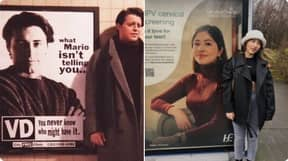 School Receptionist Finds Her Face On STI Warning Advert Just Like Joey From Friends