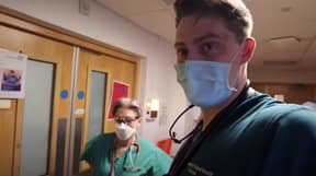 Dr Alex Shares Emotional Video Showing Reality Of Life On The Covid Front Line