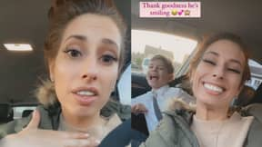 Stacey Solomon Forgets To Pick Up Sons From School Following Lockdown