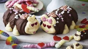 M&S Is Selling A Valentine's Day Colin The Caterpillar Cake Which Comes With Adorable Girlfriend Connie