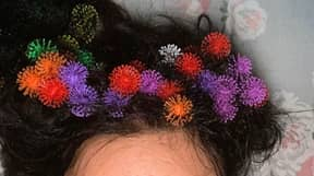 Mum Feared She Would Have To Cut Her Hair After Kids Get Bunchem Toys Entangled