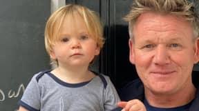 Gordon Ramsay Cruelly Trolled For Giving Son Oscar A Ponytail