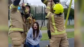 London Fire Brigade Forced To Issue Warning Over TikTok Toddler Swing Craze
