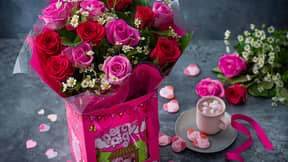 M&S Launches Percy Pig Flowers For Valentine's Day