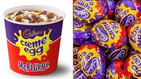 McDonald's Crème Egg McFlurry Is Returning Next Week