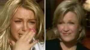 Framing Britney Spears Viewers Horrified By 'Sick' 2003 Diane Sawyer Interview
