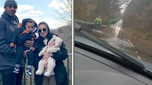 Mum Delivers Her Own Baby At 60mph As Her Partner Drove To The Hospital