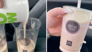People Are Making Neapolitan Milkshakes At McDonald's