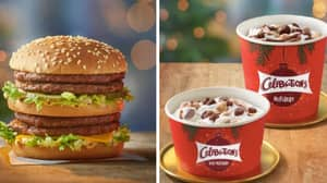 McDonald's Christmas Menu: Double Big Macs Drop In Maccies From Wednesday