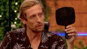 Abbey Clancy Pierced Peter Crouch's Eyebrow Live On 'Save Our Summer'