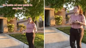 Heartbreaking Moment Woman Is Fat Shamed Whilst Exercising In Nevada