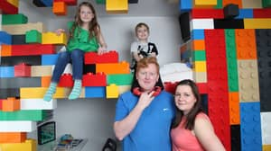 Dad Builds Son An Incredible LEGO Bedroom