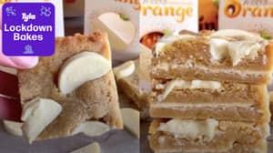 Lockdown Bakes: How To Make Terry's White Chocolate Orange Blondies