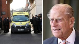 BREAKING: Prince Philip Taken By Ambulance To New Hospital