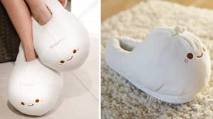 You Can Now Buy Heated Dumpling Slippers To Keep You Warm This Winter