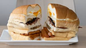 Cafe Is Selling Britain's Biggest Breakfast Sandwich Weighing Over 5lbs