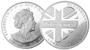 You Can Now Get An NHS Heroes Coin