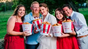 Couple Throw A KFC-Themed Wedding And It's Finger-Lickin' Good