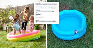 Woman Fuming After Ordering Paddling Pool For Her Son