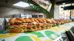Subway Launches 6ft Pigs-In-Blankets Sub