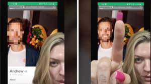 Woman Slams Tinder User's Lazy Catfishing Attempt