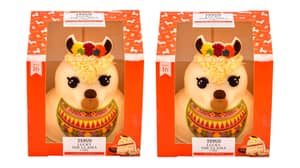 Tesco Is Selling A Llama Celebration Cake And It's Actually The Sweetest