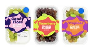 Tesco Are Selling Three New Grape Flavours Including Candy Floss And Tropical