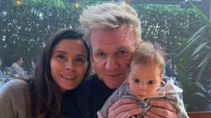 Gordan Ramsay Shares Photos Of Two-Month-Old Son Oscar Pouting