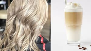 White Chocolate Mocha Is The Most Delicious Hair Colour Of The Season