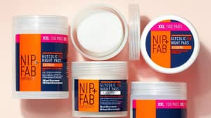 Women Praise Nip+Fab Glycolic Fix Extreme Night Pads For Clearing Up Their Acne