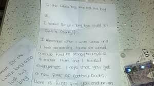 Mum Praises Stranger's Generous £100 Gift To Replace Her Son's Lost Football Kit