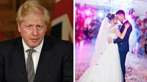 Boris Johnson Says 'Over 30' People Can Attend Weddings From Monday Despite Lockdown Delay