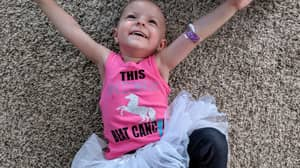 Two-Year-Old Beats Rare Form Of Ovarian Cancer