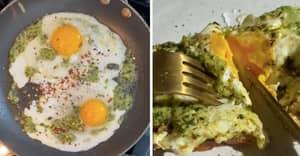 TikTok Pesto Eggs Are The New Viral Baked Feta Pasta