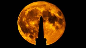 There's Going To Be A Rare Bright Orange Hunter's Moon This Weekend
