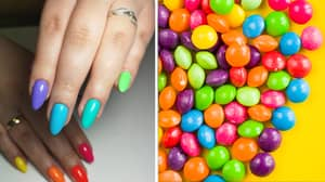Everyone's Getting 'Skittle Nails' This Summer