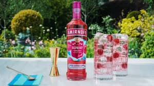 Smirnoff Just Launched A Raspberry Crush Vodka Flavour