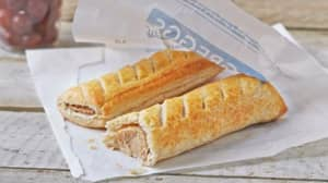 Greggs Is Launching A Vegan Sausage Roll Next Year