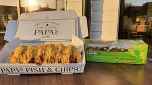 Fish And Chip Shop Serves Deep Fried Colin The Caterpillar Cake