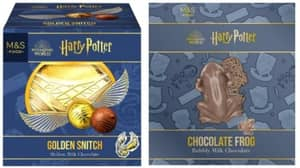 M&S Launches 'Harry Potter' Range With Chocolate Frogs and Edible Wands