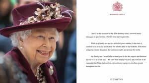 The Queen Releases A Statement On Prince Philip's Death