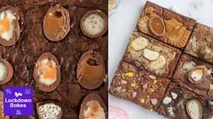 Lockdown Bakes: People Are Making Chocolate Fudge Easter Egg Brownies